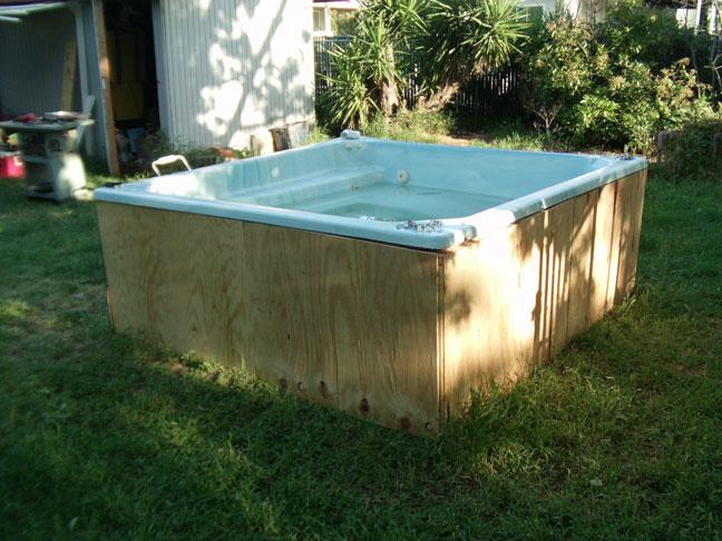 Diy Hot Tub Koi Pond